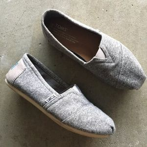TOMS Terry Cotton Fabric Shoes